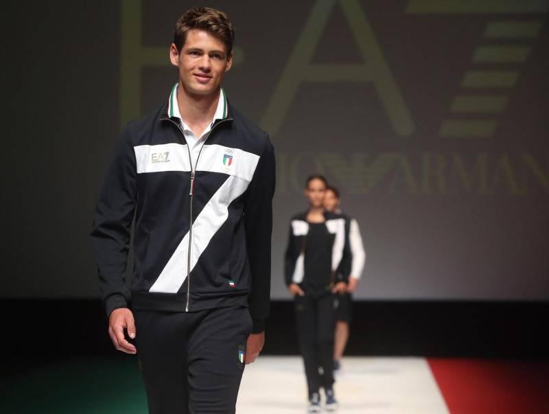 wholesale dealer c2461 8bac7 Rio 2016 lo sport italiano veste Armani – Palermo Novanta