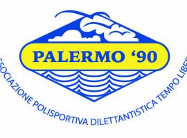 LOGO PALERMO blu-giallo
